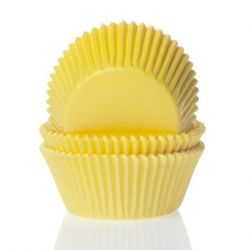 House Of Marie Mini Baking Cups Yellow pk/60