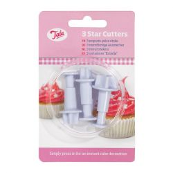Tala 3Pc Star Cutters