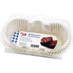 Tala 1Lb Siliconised Loaf Liners Pack 40