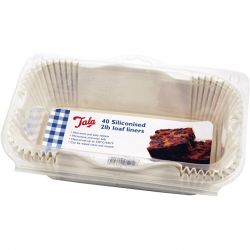 Tala 2lb Siliconised Loaf Liners Pack 40