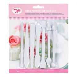 Tala Icing Tools White 7Pcs