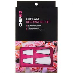 Chef Aid 12Pc Cupcake Decorating Set