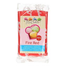 FunCakes fondant Fire Red 250g
