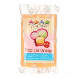 FunCakes fondant Tropical Oranje 250gr
