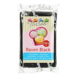 FunCakes fondant Raven Black 250gr