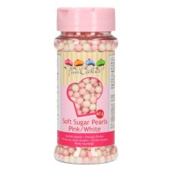 FunCakes Soft Pearls Pink/White