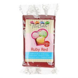 FunCakes fondant Ruby Red 250g
