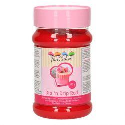 FunCakes Dip N Drip Red 375gr