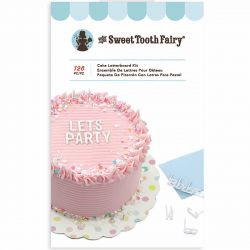 Cake letterboard kit white 128pc