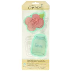 Sweet Sugarbelle Country rose cookie cutter