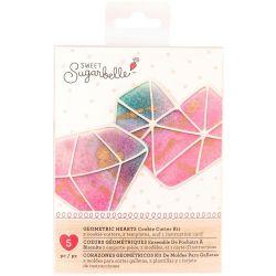 Sweet Sugarbelle Geometric hearts