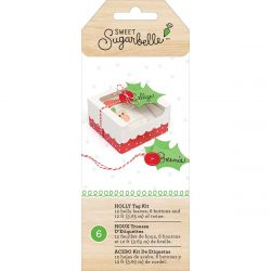 Sweet Sugarbelle Holly tag kit 6pc