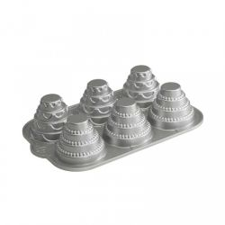 Mini tiered cakelet pan