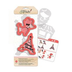 Sweet Sugarbelle Ooh la la cookie cutter set
