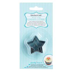 Star fondant cutter set