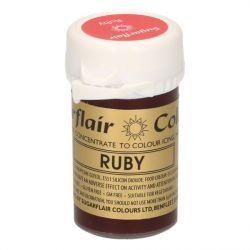 Sugarflair paste colour Ruby