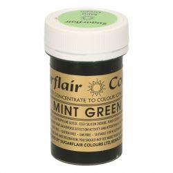 Sugarflair paste colour mint green