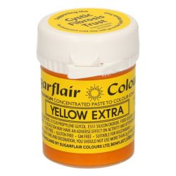 Sugarflair Yellow Extra