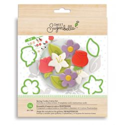 Sweet Sugarbelle Spring cookie cutter set