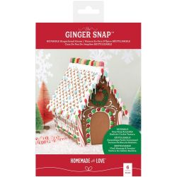 Homemade With Love Reusable Gingerbread House Kit