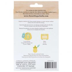 Sweet Sugarbelle Tropical Cookie cutter & Stamp Set