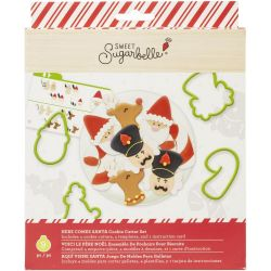 Sweet Sugarbelle Here Comes Santa Cookie Cutter Set Pk/9