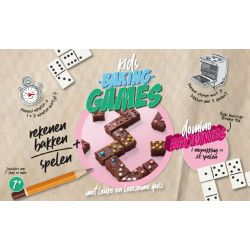 Kids Baking Games Domino Brownie
