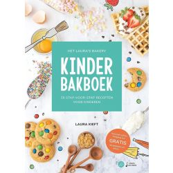 Laura's Bakery - Kinder Bakboek - Laura Kieft