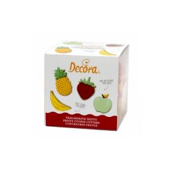 Decora Fruit Cookie Cutters Set/4
