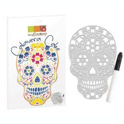 Scrap Cooking Calavera Cake Stencil Set