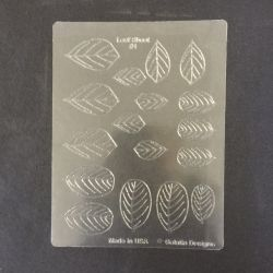 Gelatin Veining Sheet Leaf #1