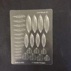 Gelatin Veining Sheet Leaf #2