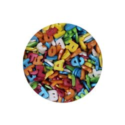 Scrumptious Glimmer Letters Multicoloured