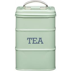 Living Nostalgia tea Tin Steel Green