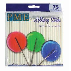 PME Lollipop Sticks - 9.5cm - PK/75