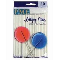 PME Lollipop Sticks - 11.5cm - PK/50