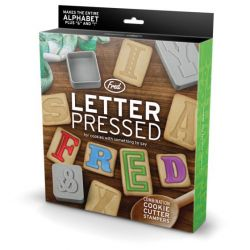 Fred Cookie Cutters Letter Pressed 28/pc