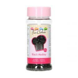 Funcakes Sprinkle Medley Black 65gr