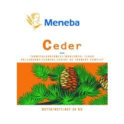 Meneba Ceder Volkorenmeel 25kg ALLEEN AFHALEN