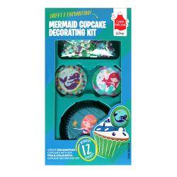 Cake Decor Cupcake Kit Mermaid