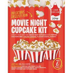 Cake Decor Cupcake Kit Movie Night