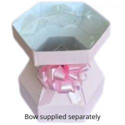 Cupcake Bouquet Box Marshmallow Pink