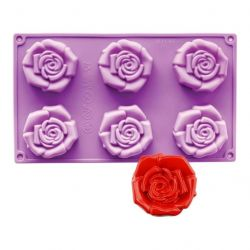N.Y. Cake Silicone Mold Open Rose