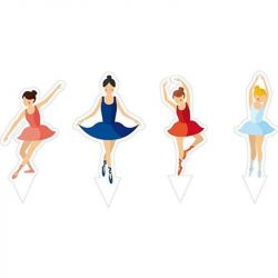 Decora Decorative Picks Ballet 5/pc