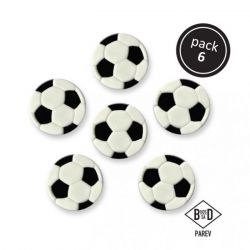 PME Edible Sugar Decorations Soccer Ball