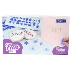 PME Fun Fonts Collection 1 Alphabet set/52