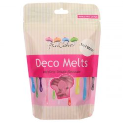 Funcakes Deco Melts Raspberry Flavor 250GR