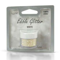 Rainbow Dust Edible Glitter White 5gr