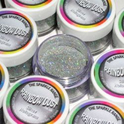 RD Decorative Sparkles Hologram Silver