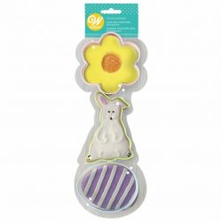 Wilton Cookie Cutter Set Easter 3pc